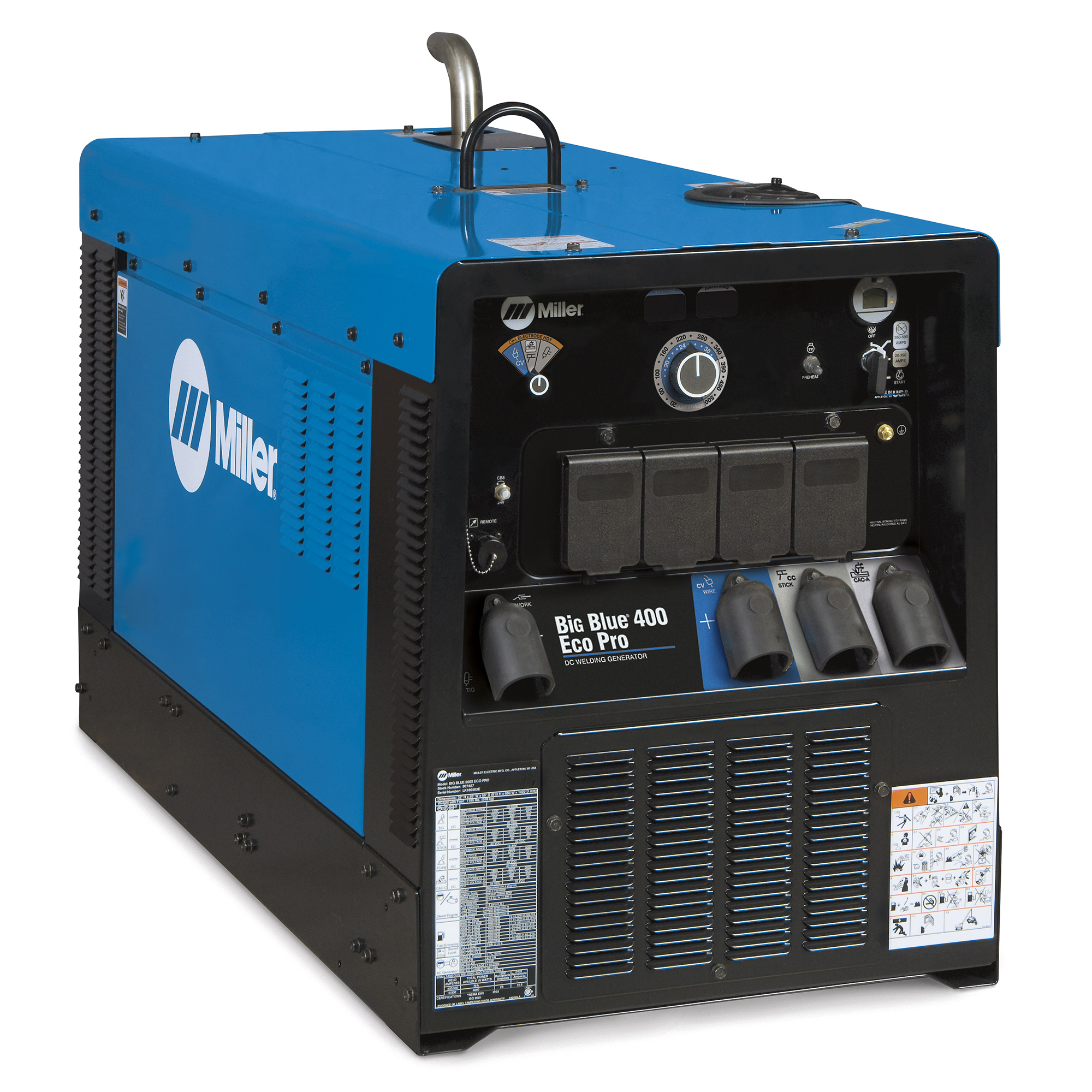 Miller Electric Big Blue Eco Pro Generator