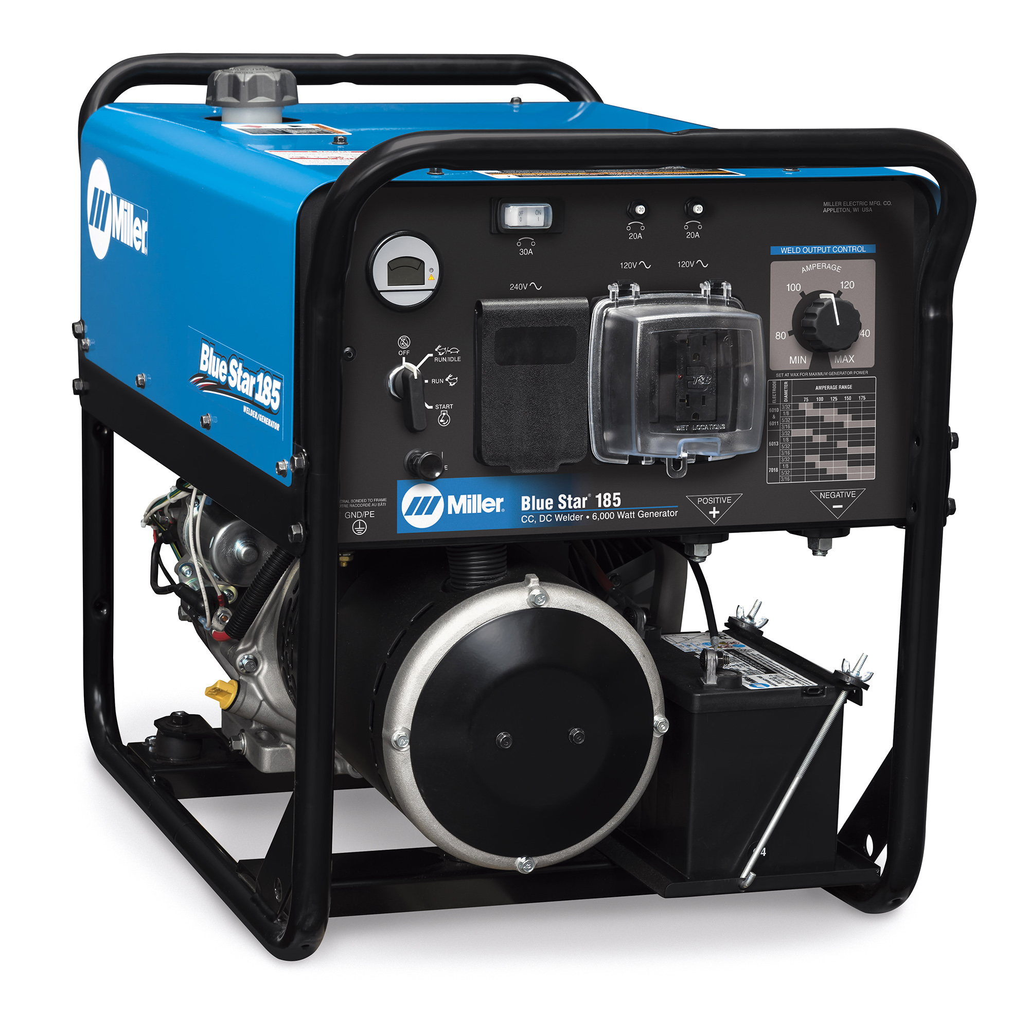 Miller Electric Blue Star 185 Generator Engine Drive