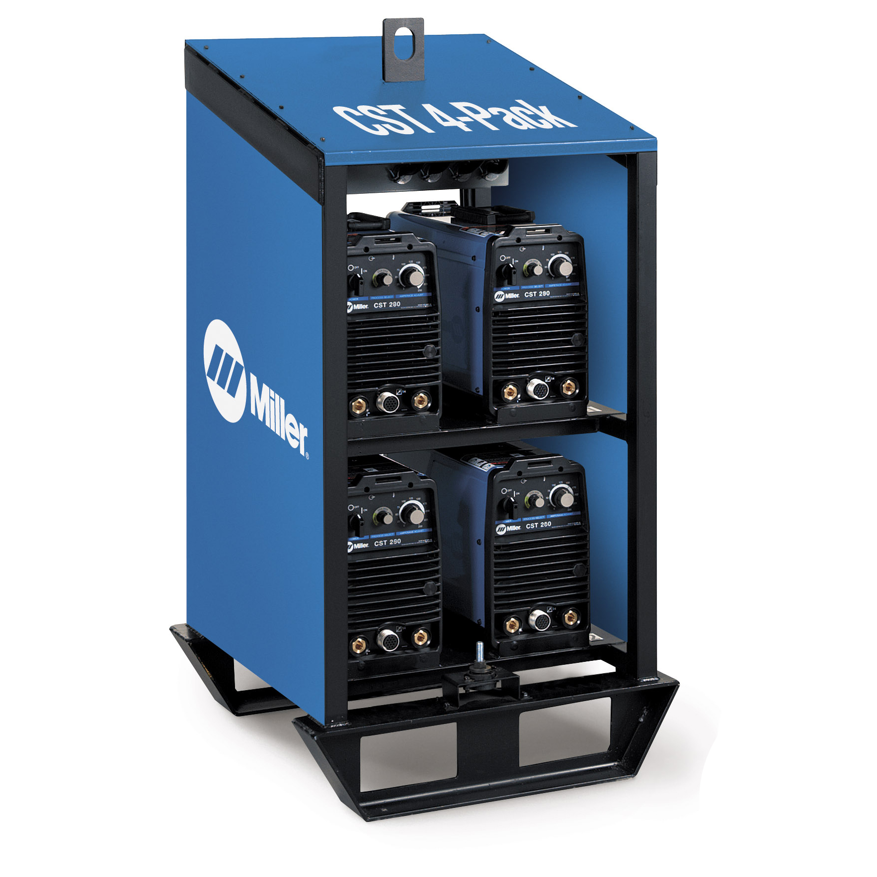 Miller Electric CST 4 pack rack multi operator welding