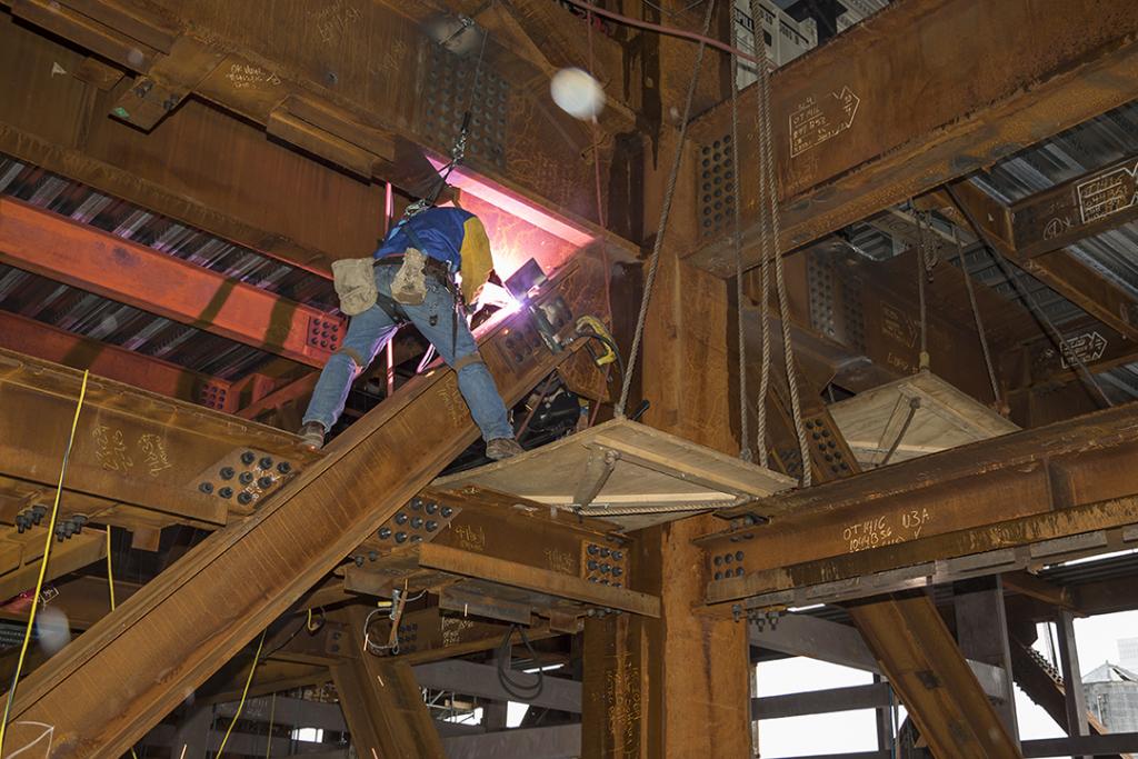 Structural Welding Steel Safety