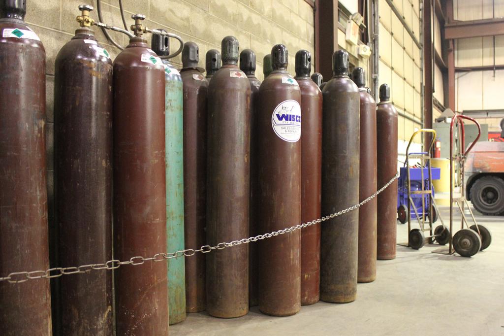 Compressed Gas Cylinders Welding Gas Argon