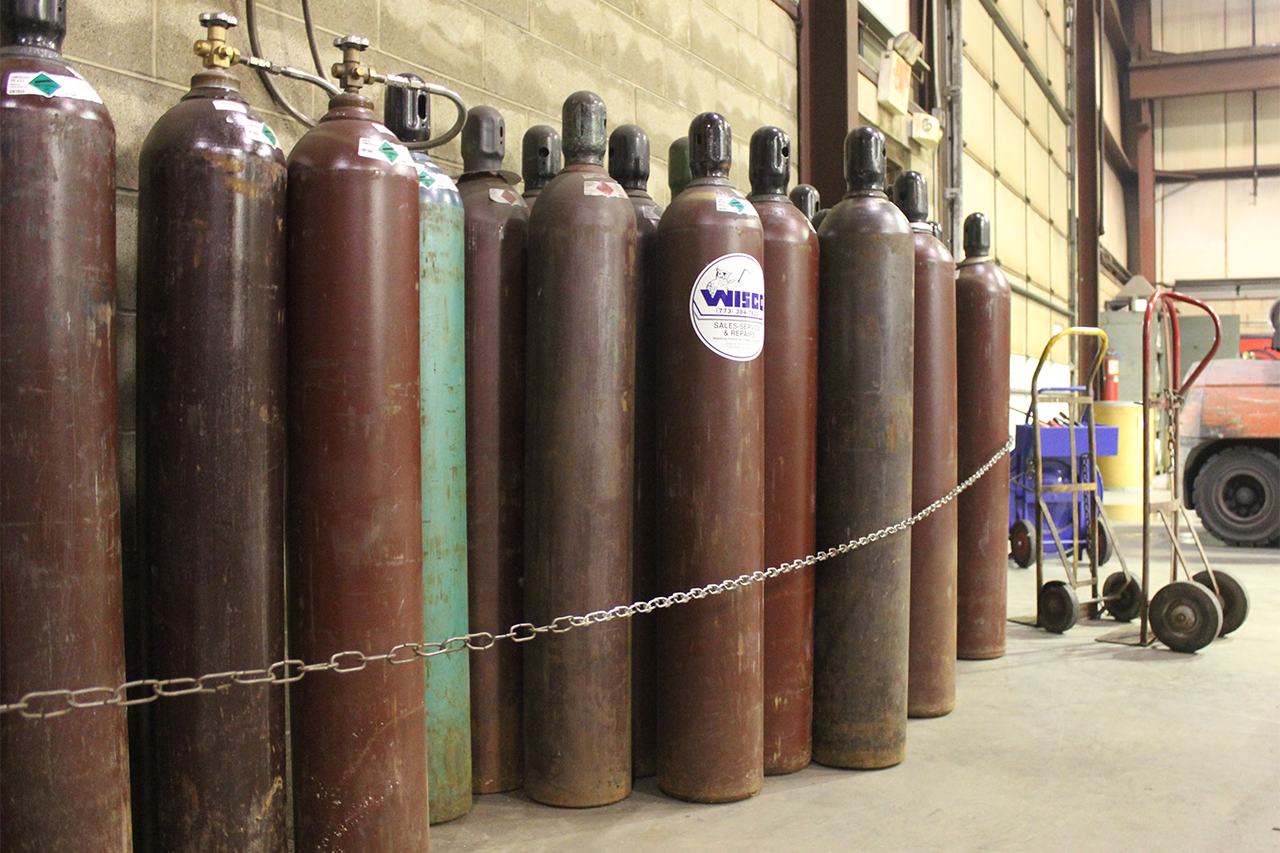 Compressed Gas Cylinders Welding Gas Argon