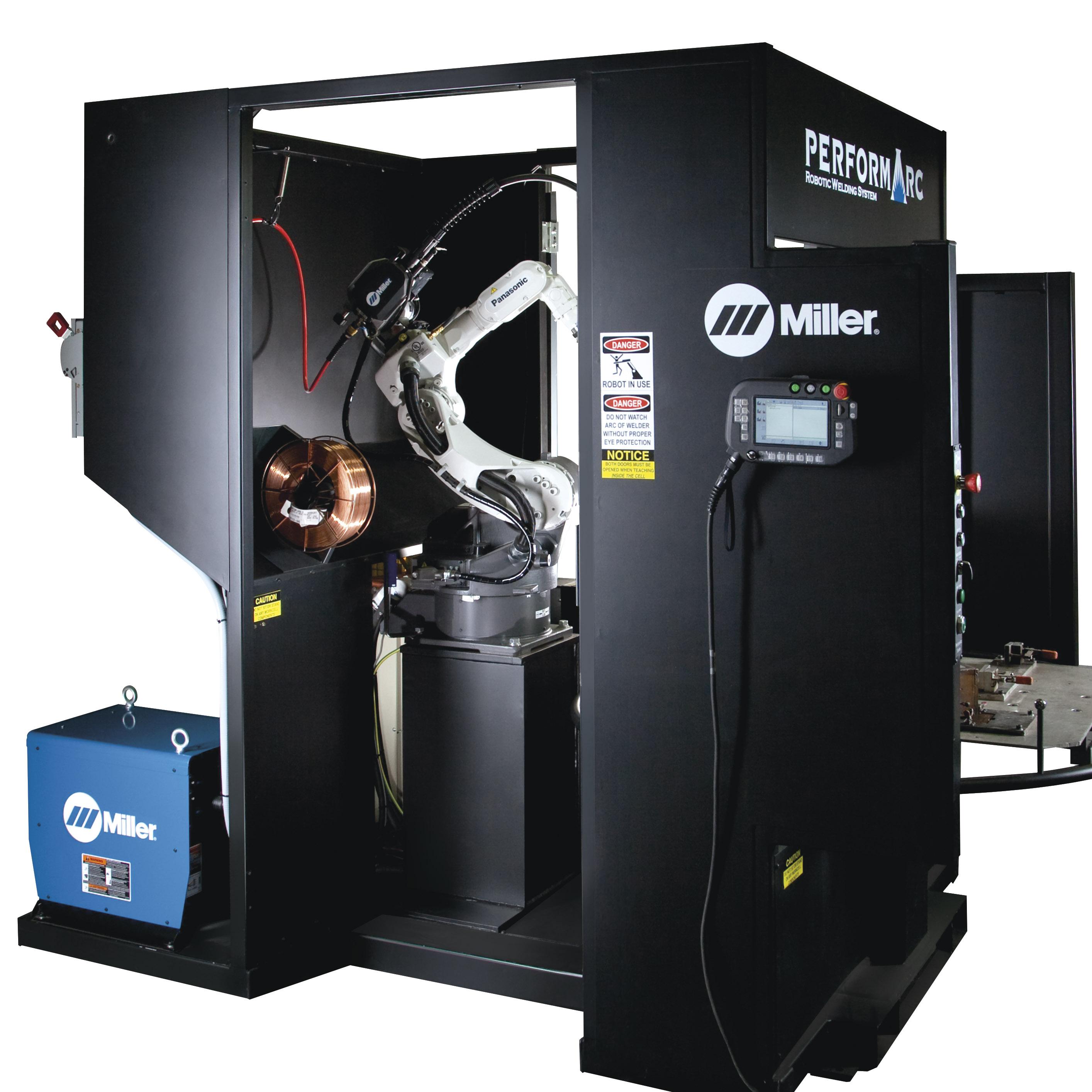 Miller Electric Perform Arc Robotics Automation Welding