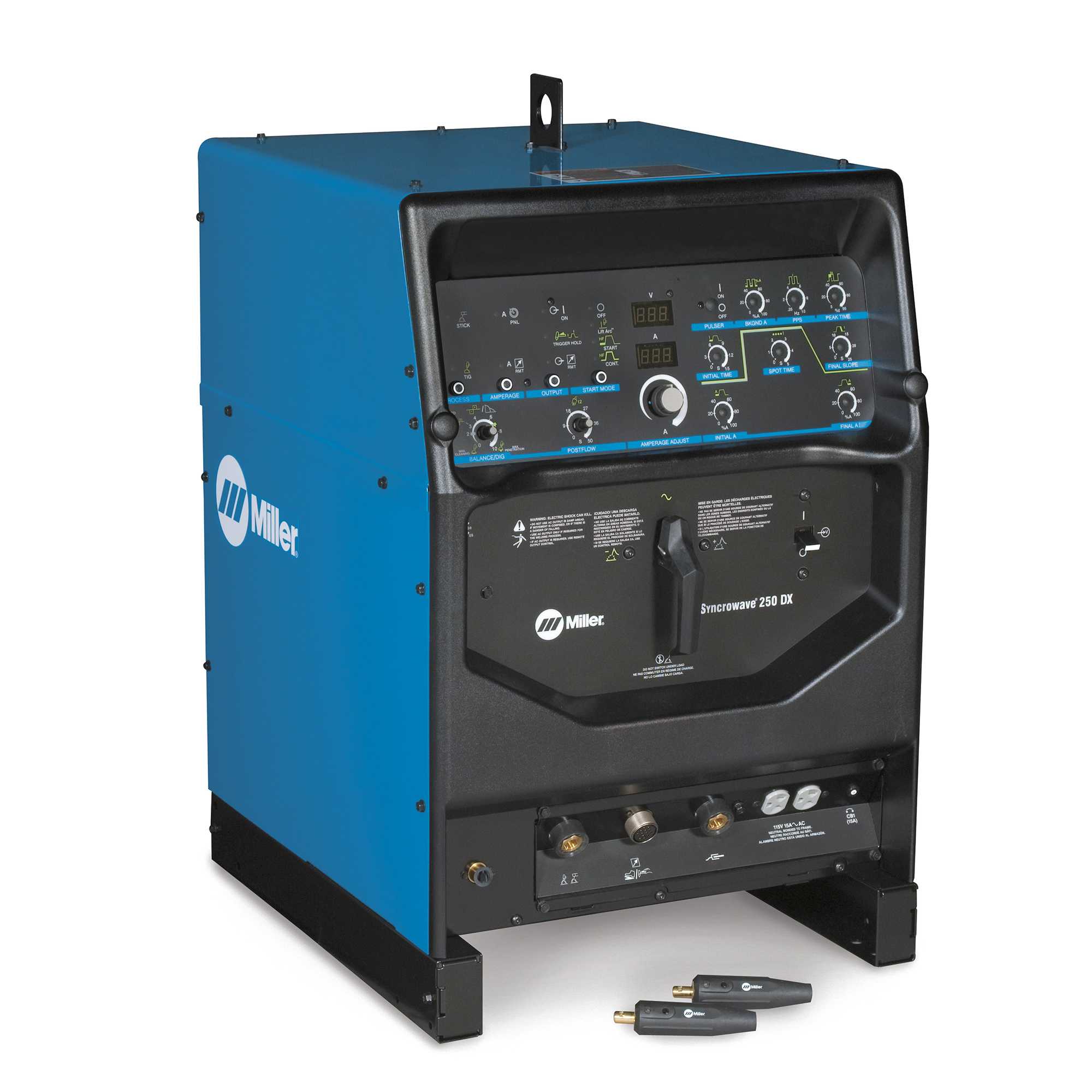 Miller Electric Syncrowave 250 dx tig welding
