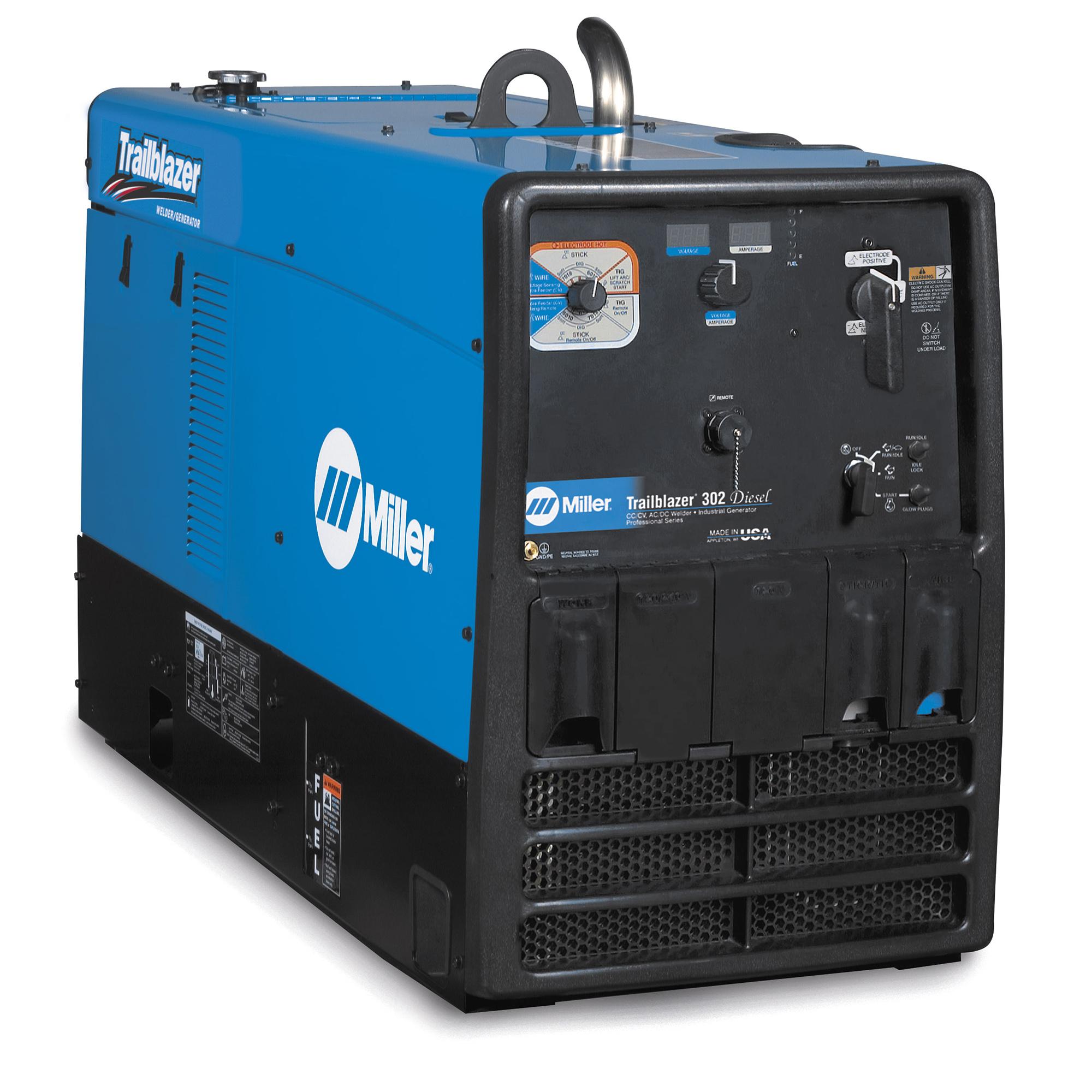 Miller Electric Trailblazer Engine Drive Gas Diesel